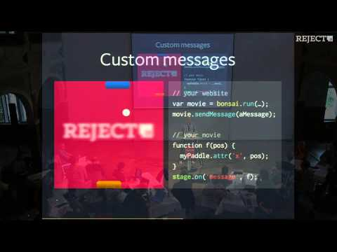 [Reject.JS 2013] Tobias Reiss - BonsaiJS -- A Graphics and Animation Library