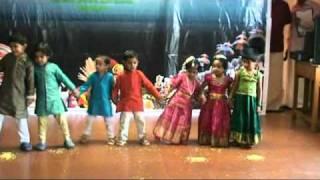 Onam Celebrations 2010 @ CG - Toddlers Onam Theme Dance