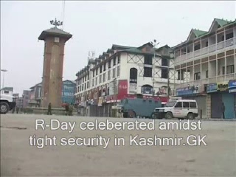R-Day observed amidst tight security in Kashmir