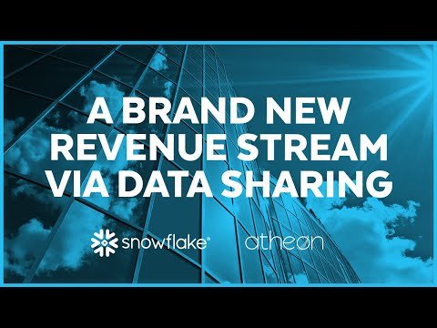 Atheon Analytics - Data Sharing is Key to the Business