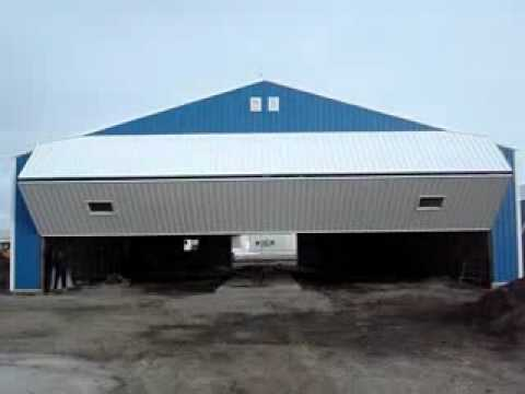 Integrity Post Structures Post Frame Building Airplane Hangar Bi