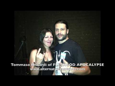 FLESHGOD APOCALYPSE Interview with Alternative Control 6/24/2014 Gramercy Theater NYC