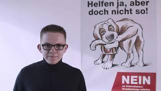 Statement Unternehmens-Verantwortungs-Initiative von Sebastian Binggeli, Vorstand FDP Oberwil & JFBL