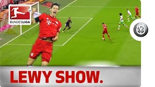First Time in Full Length: Lewandowski\'s 9-Minute Miracle