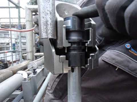 Easy installation of Lokring fitting