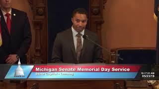 25th annual Michigan Senate Memorial Day Service
