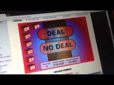 Deal Or No Deal? UK Version!! Game