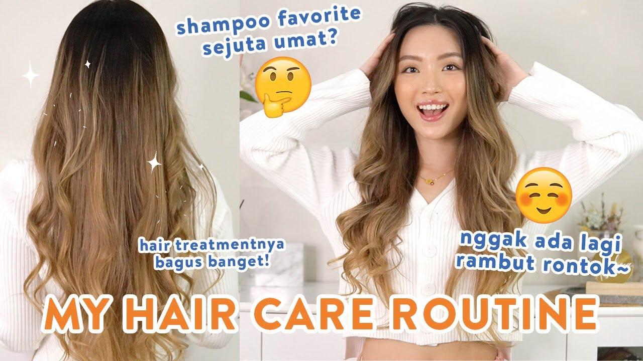 Shampoo & Treatment ANTI RONTOK.. rambut auto  halus dan mudah di atur habis keramas!