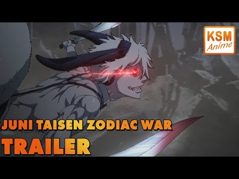 TRAILER - Juni Taisen Zodiac War - Deutsch (German Dub)