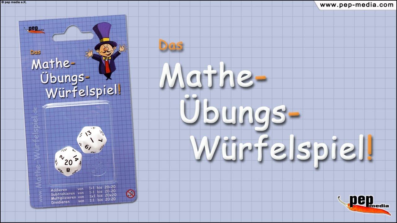 Mathe - u00dcbungs - Wu00fcrfelspiel // Grundrechenarten + 1x1 ...