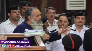 أبو اسماعيل يدفع ببطلان محاكمته:'فين الدليل المادي على الواقعة'..فيديو