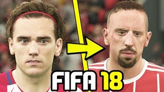 Fifa 18 player faces - over 200+ new faces you missed! (official)