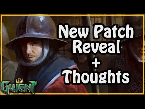 New Patch - Poor _ Infantry Reveal & Thoughts | Gwent