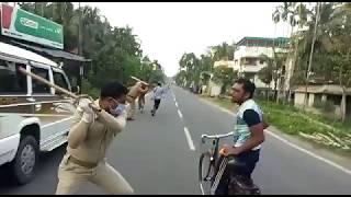Lockdown in India || Kolkata police na keya lathi charge