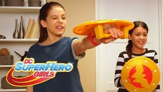 Unleash Your Power with Wonder Woman's Shield!   DC Super Hero Girls
