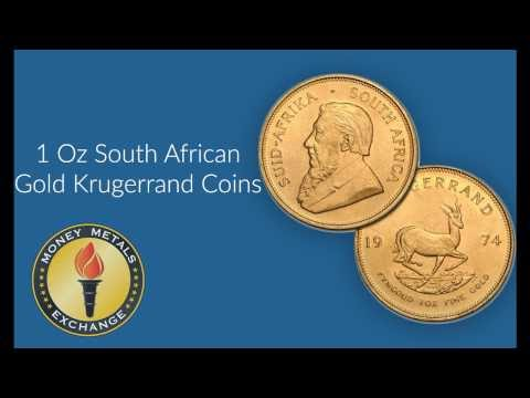 South African Gold Krugerrand Coin | South African Mint | Money Metals Exchange