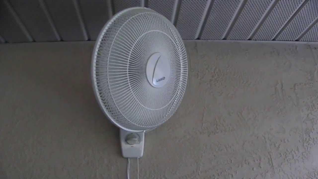 Lasko Wall Mounted Oscillating Fan