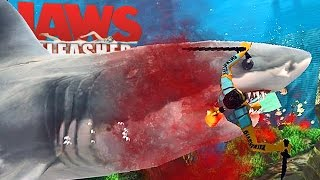 Jaws Unleashed - Tubarão Faminto, Festa Na Praia, Grande Explosão! | (#3) (PT-BR) Jogos De Tubarão