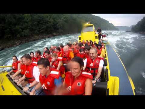 Whirlpool Jet boat tour -Niagara Falls