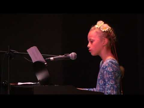 Lilly Streech performs Count on Me - Danman Kids Concert Oct 2017