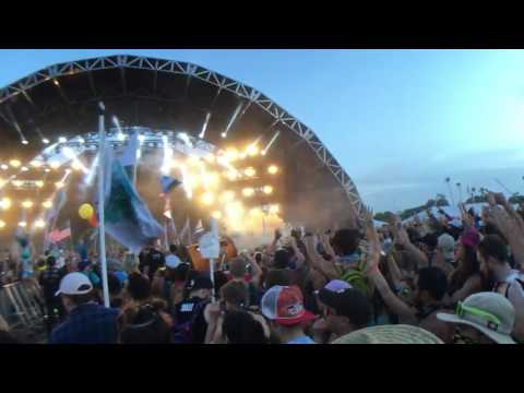 Yellow Claw - Prison Riot vs 24k Live at Sunset Music Festival