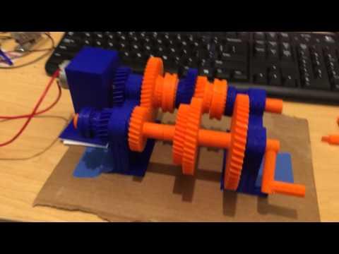 3D Printed Manual Transmission