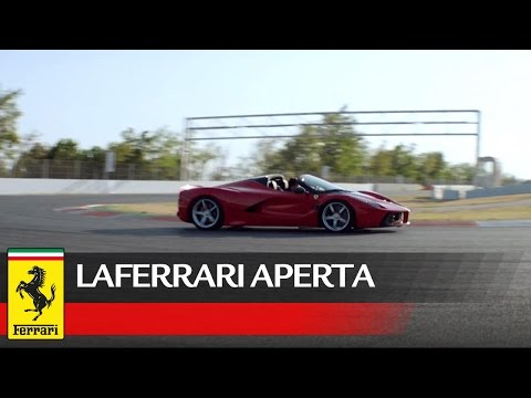 LaFerrari Aperta - Official video - Ferrari 2016