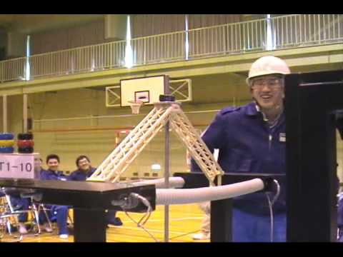 11th Annual Toothpick Bridge Contest