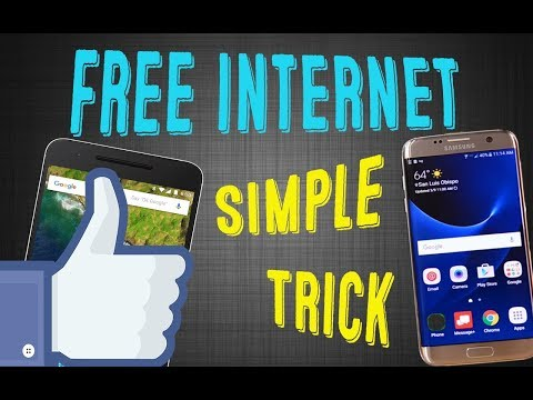 How To Get Free Internet Access On Your Android Phone / Tablet  In 3 Minutes   2018*