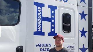 Truck Driving Student - 1ST BLINDSIDE BACKING