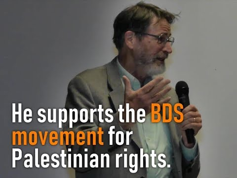 Nobel laureate George P. Smith speaks about BDS for Palestinian Rights