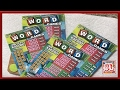 ** Word Games Scratch off Lottery Tickets ** SL's SCRATCHERS CHANNEL **