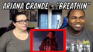 Ariana Grande - Breathin (Live on Ellen / 2018) REACTION