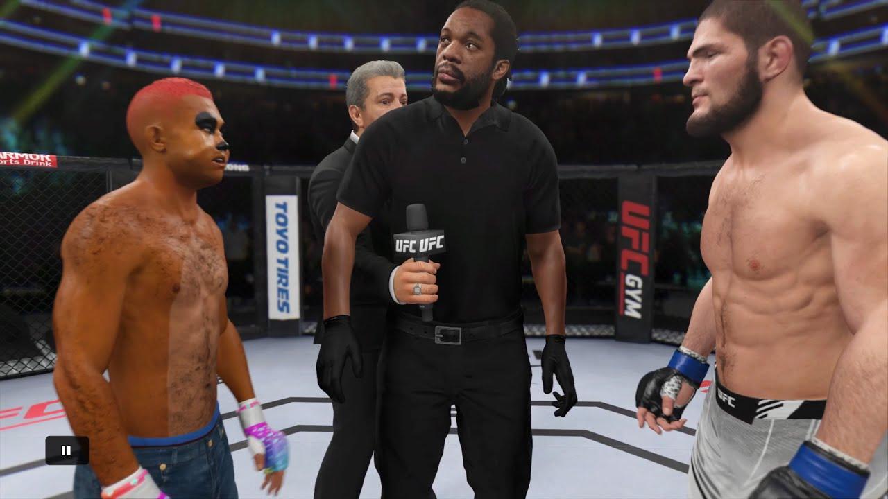 Timon vs. Khabib Nurmagomedov - EA sports UFC 4