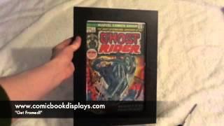 Comic Book Displays Demonstration