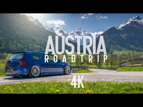 Austria Drone Footage, Road Trip Wörthersee 2016 (4K)