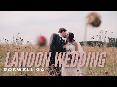 Alexis & David // Wedding Film //Historic Cottage Roswell Ga