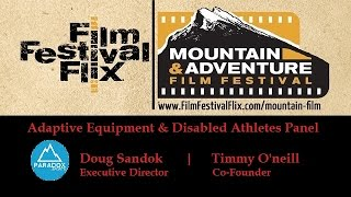 Adaptive Equipment and Disabled Athletes Panel Discussion - #MAFF 2015