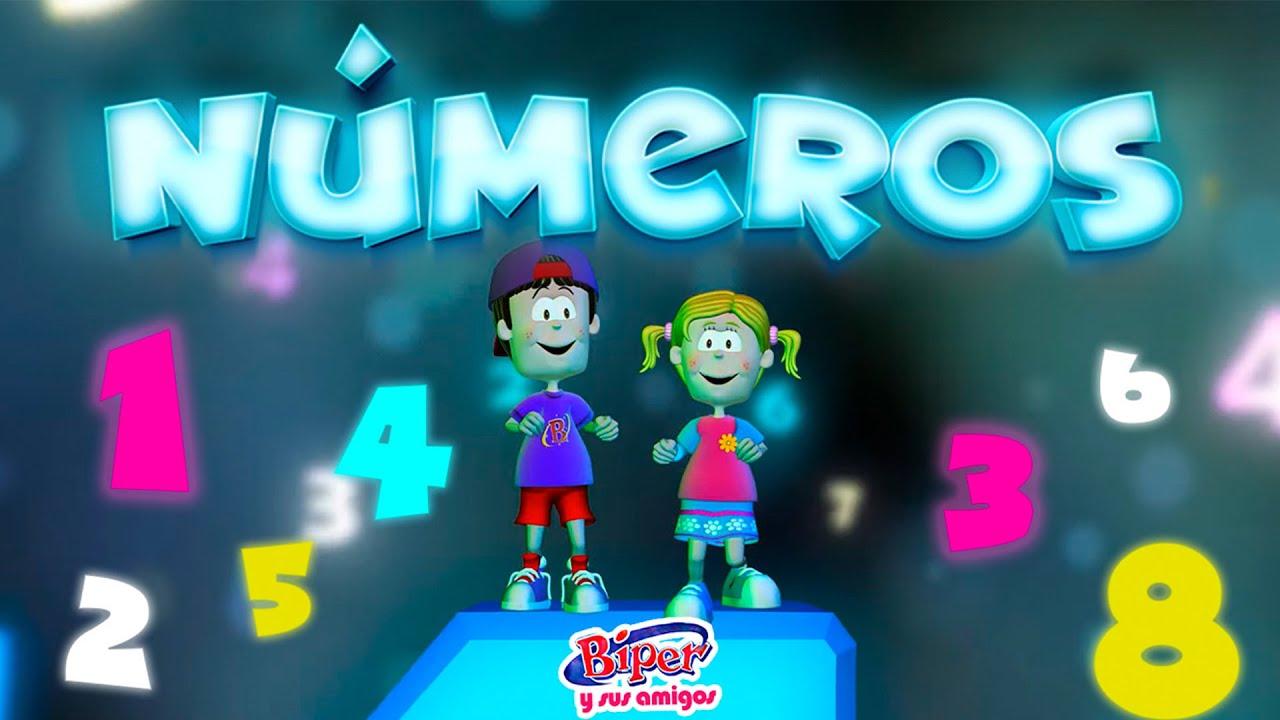 Biper y sus Amigos | Números (Video Oficial)