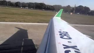 Bombardier CRJ900 TakeOff at Buenos Aires SABE Rwy 13
