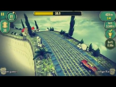 Vertigo Racing (by CHILLINGO) - racing game for android - gameplay.