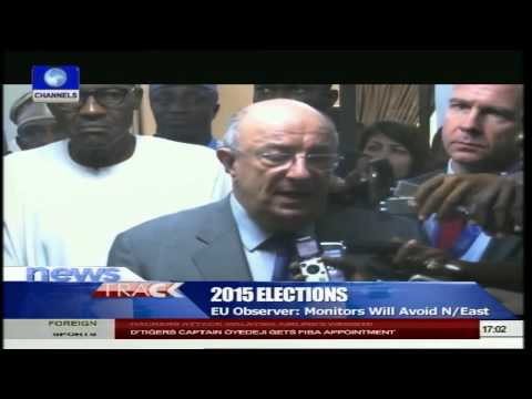 About 92 EU Observers Expected In Nigeria To Monitor 2015 Elections