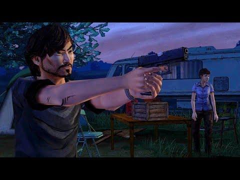 Tavia Gathers Survivors (Walking Dead 400 Days Epilogue | Telltale Games | Final) |