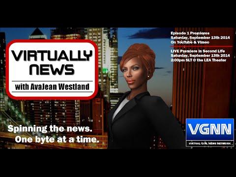 Virtually News with AvaJean Westland   Episode 1