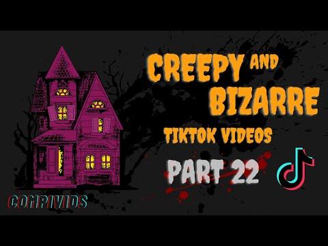 NEW? PART 22 || STRANGE BIZARRE AND #CREEPY TIKTOK COMPILATION VIDEOS | ALIENS DEMONS