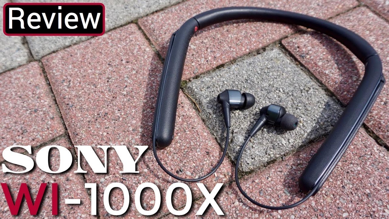 c3fa3343100 Sony WI-1000X Review - The 1000XM2 Little Brother - YouTube