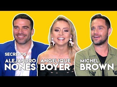 La Entrevista Que No Esperaban Angelique Boyer, Michel Brown Y Alejandro Nones En #Secretos