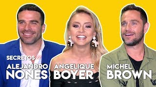 La entrevista que no esperaban Angelique Boyer, Michel Brown y Alejandro Nones en #Secretos