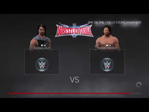 WWE2K17 Livestream With Lootcrate Winner