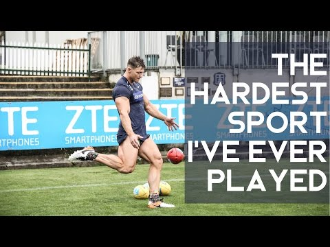 The Hardest Sport I've Ever Played | Australian Rules Football